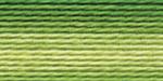 """Нитки для вышивания """"Gamma"""" мулине меланж 100% хлопок 12 x 8 м Р-13 т.зеленый-яр.желтый"""