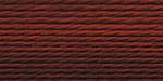 """Нитки для вышивания """"Gamma"""" мулине меланж 100% хлопок 12 x 8 м Р-05 алый-коричневый"""