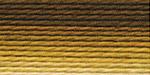 """Нитки для вышивания """"Gamma"""" мулине меланж 100% хлопок 12 x 8 м Р-18 св.коричневый-бл.желтый"""