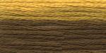 """Нитки для вышивания """"Gamma"""" мулине меланж 100% хлопок 8 м, Р-36 горчичный-т.желтый"""