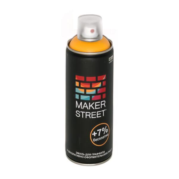 """""""MAKERSTREET"""" Эмаль для граффити и декоративно-оформительских работ MS400 400 мл 101 Желтый"""