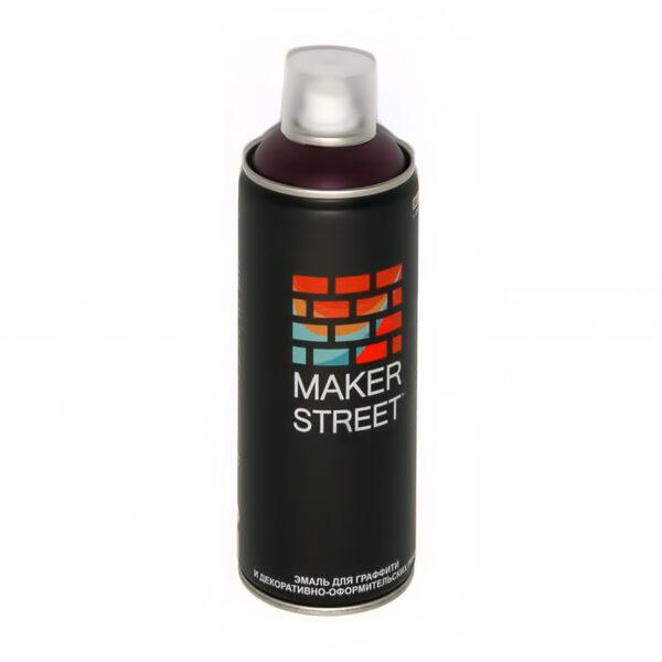 """""""MAKERSTREET"""" Эмаль для граффити и декоративно-оформительских работ MS400 400 мл 310 Темно-фиолетовый"""