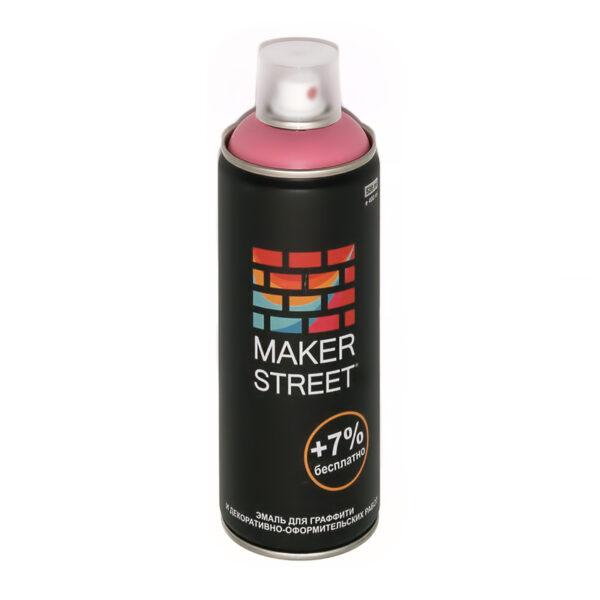 """""""MAKERSTREET"""" Эмаль для граффити и декоративно-оформительских работ MS400 400 мл 302 Розовый"""