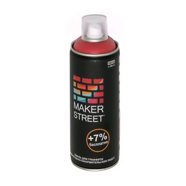 """""""MAKERSTREET"""" Эмаль для граффити и декоративно-оформительских работ MS400 400 мл 307 Коралловый"""