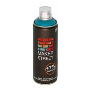 """""""MAKERSTREET"""" Эмаль для граффити и декоративно-оформительских работ MS400 400 мл 606 Лазурный"""