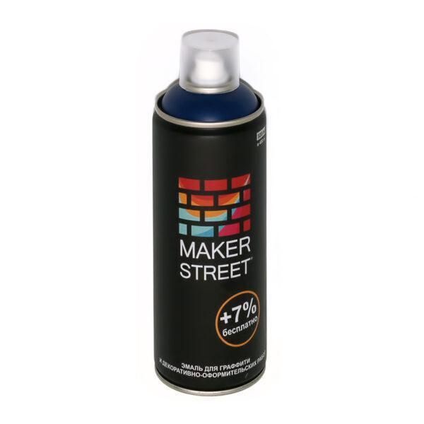"""MAKERSTREET"" Эмаль для граффити и декоративно-оформительских работ MS400 400 мл 503 Темно-синий"
