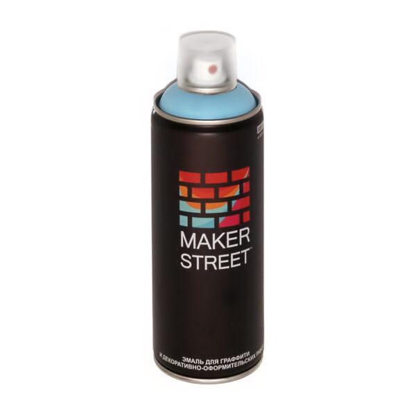 """""""MAKERSTREET"""" Эмаль для граффити и декоративно-оформительских работ MS400 400 мл 500 Голубой лед"""