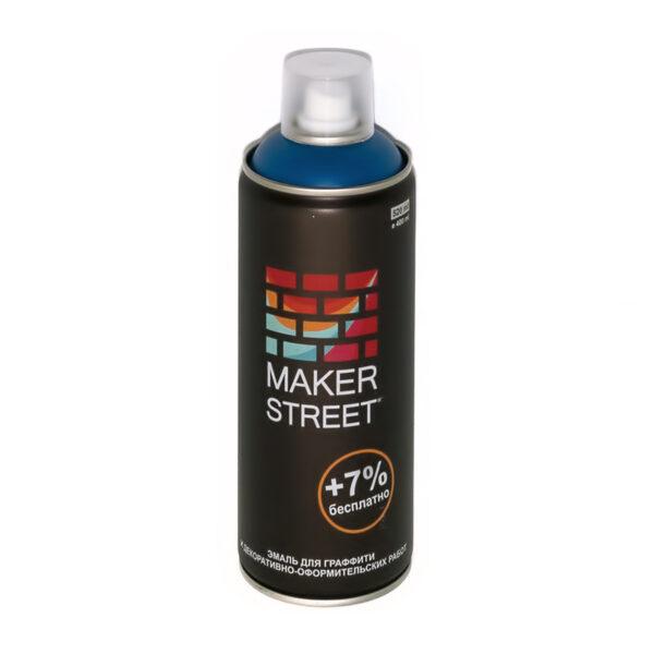 """""""MAKERSTREET"""" Эмаль для граффити и декоративно-оформительских работ MS400 400 мл 505 Синий"""