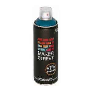 """""""MAKERSTREET"""" Эмаль для граффити и декоративно-оформительских работ MS400 400 мл 607 Морская волна"""