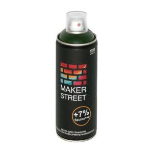 """""""MAKERSTREET"""" Эмаль для граффити и декоративно-оформительских работ MS400 400 мл 611 Зеленая хвоя"""