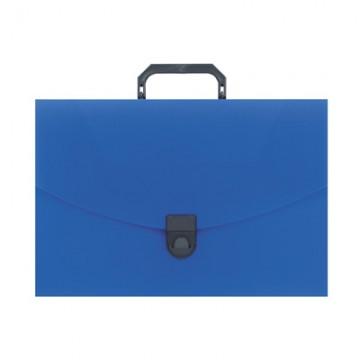 Папка портфель пласт. ATTACHE A4/06 40мм синий