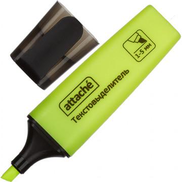 Маркер выделитель текста Attache Colored 1-5мм желтый