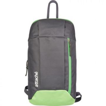 Рюкзак спортивный Attache серый-салатовый