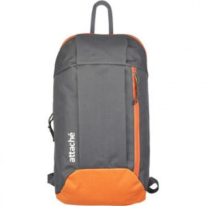 Рюкзак спортивный Attache серый-оранжевый