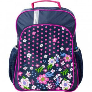 Рюкзак школьный №1 School Цветочная фантазия