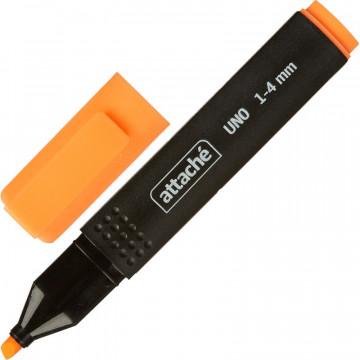 Маркер выделитель текста Attache Economy Uno 1-4мм оранжевый
