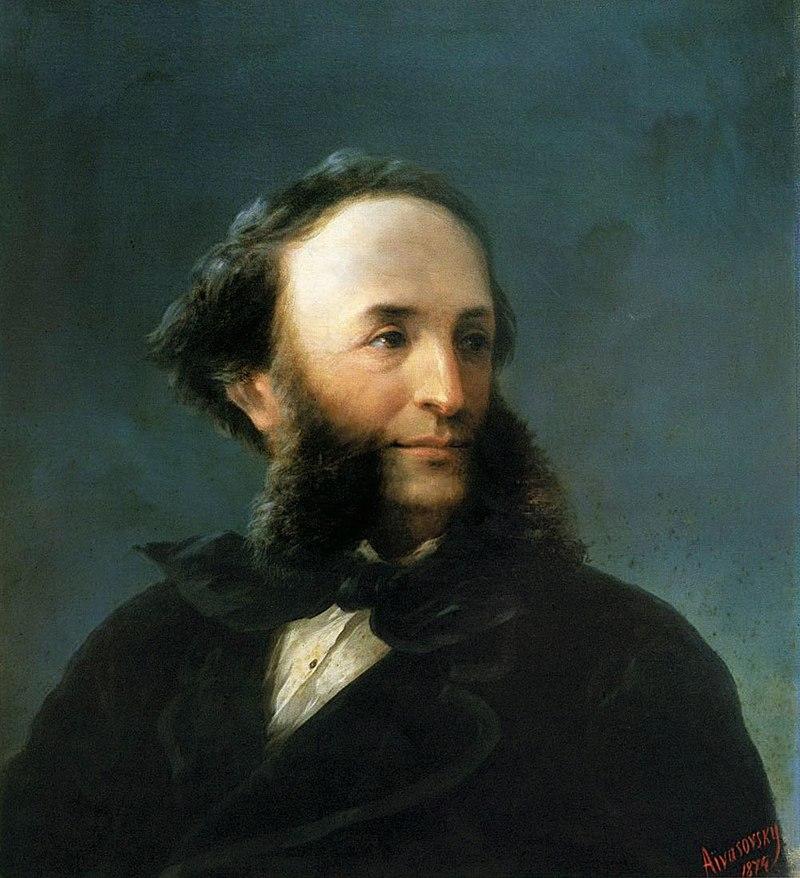 Автопортрет И. Айвазовского