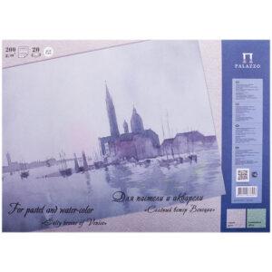 """Планшет для акварели и пастели 20л. А3 Лилия Холдинг """"Соленый ветер Венеции"""", 200г/м2, 2 цвета"""