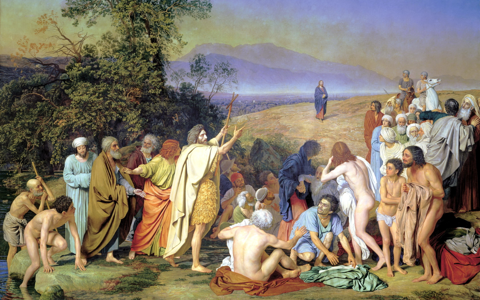 А. А. ИВАНОВ. Явление Христа народу