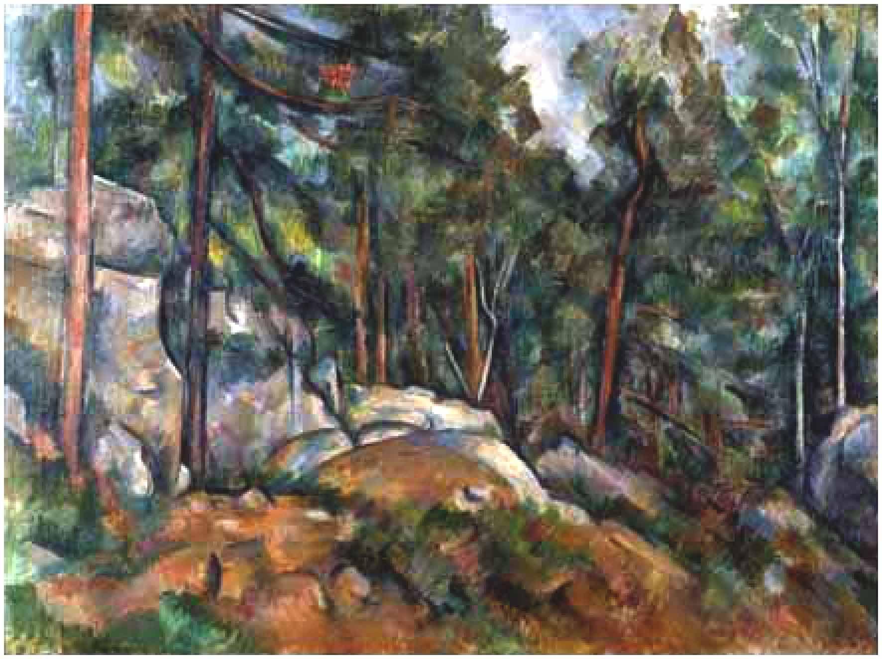 П. СЕЗАНН. В лесу